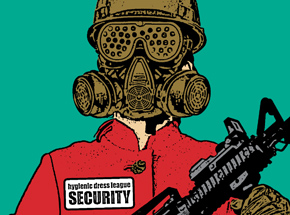 Art by Hygienic Dress League - - Female Security -