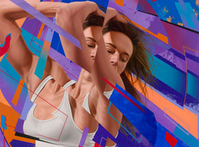 Original Art by James Bullough - Oblivion - Original Artwork