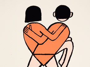Art Print by The Heliotrope Foundation - Jean Jullien