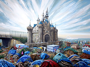 Art Print by Jeff Gillette - Dismaland Calais - Limited Edition Prints