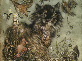 Original Art by Jeremy Hush - The Mischievous & The Wayward