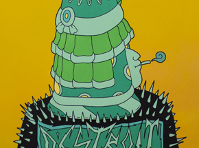 Art by Jesus Benitez - Destroit - Yellow Edition
