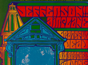 Art by Jim Blashfield - Jefferson Airplane, Grateful Dead at Hollywood Bowl - September 1967