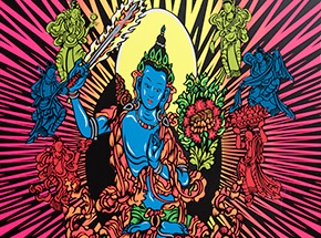Art Print by Jim Evans / Taz - Tibetan Freedom Concert - 1997