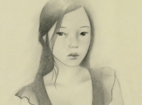Original Art by Joanne Nam - Shady - Sketch 01