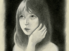 Original Art by Joanne Nam - Shady - Sketch 03