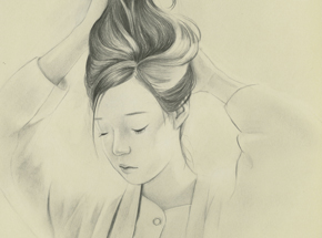 Original Art by Joanne Nam - Shady - Sketch 04