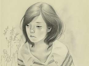 Original Art by Joanne Nam - Shady - Sketch 05