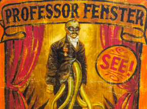 Art Print by John Dunivant - Professor Fenster