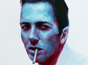 Art Print by John Wentz - Joe Strummer