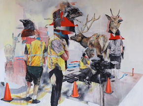 Art Print by Joram Roukes - Action On Spring