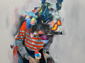 Art by Joram Roukes - Five Scoops - Framed