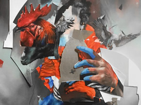Art Print by Joram Roukes - The European - Hand-Embellished Edition