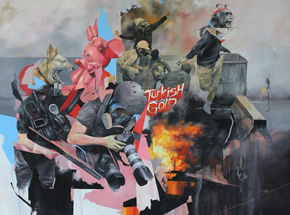 Art Print by Joram Roukes - Turkish Gold - Standard Edition