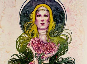 Original Art by Kelly McKernan - Endue