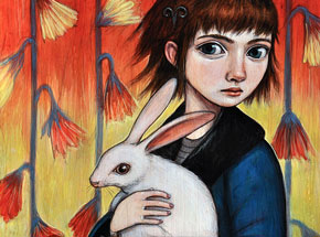 Original Art by Kelly Vivanco - Keep Safe