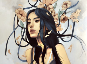 Art Print by Kelsey Beckett - The Last Hopeless Glance - Standard Edition