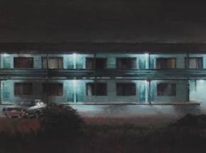 Art Print by Kim Cogan - Old Roberts Motel