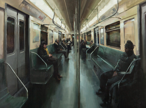 Art Print by Kim Cogan - Passengers