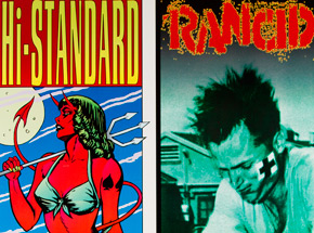 Art by Kozik - Hi-Standard & Rancid Uncut Print