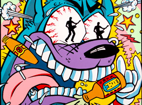 Art by Kozik - MTV Presents Live From The 10 Spot