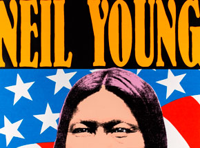 Art by Kozik - Neil Young- September 5th & 6th, 1993 at The Gorge Amphitheater
