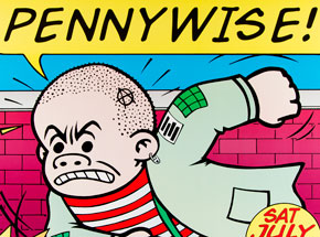 Art by Kozik - Pennywise - July 22nd 1995 at Metro