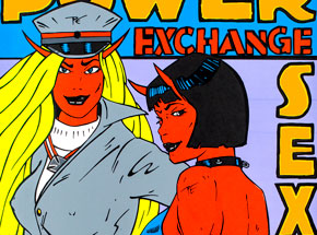Art by Kozik - Power Exchange Sex Club - San Francisco 2001
