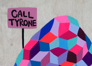 Original Art by Kristin Farr - Call Tyrone When You Get To The Top - Original Artwork
