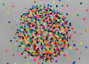 Art Print by Kristin Farr - Confetti Cloud - Limited Edition Prints