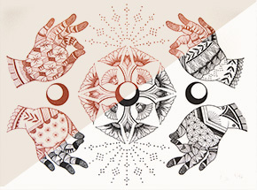 Art Print by Lauren Napolitano - Sublime States - 2-Print Set