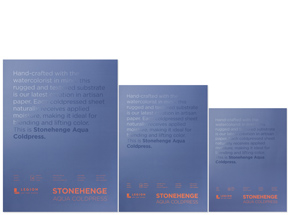 Art Collection by Legion Paper - Stonehenge Aqua Coldpress