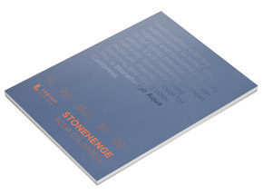 Book by Legion Paper - 9x12 Stonehenge Aqua Coldpress Paper Pad