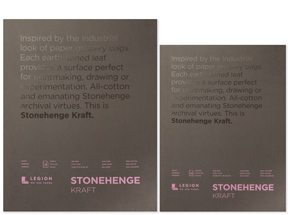 Art Collection by Legion Paper - Stonehenge Kraft