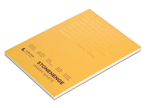 Book by Legion Paper - 5x7 Stonehenge Warm White Paper Pad