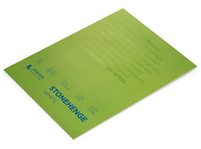 Book by Legion Paper - 18x24 Stonehenge White Paper Pad