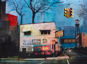 Art Print by Liz Brizzi - Singleton Cleaners