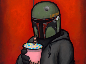 Art Print by Luke Chueh - Boba