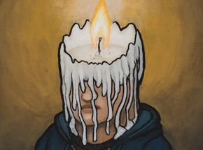 Original Art by Luke Chueh - Candle Man