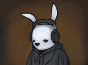 Art Print by Luke Chueh - Headphones