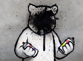 Art Print by Luke Chueh - Graffiti