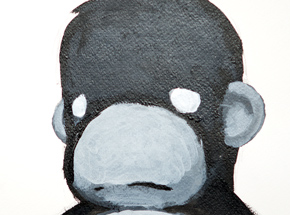 Original Art by Luke Chueh - Monkey - Character Study