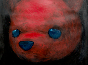 Original Art by Luke Chueh - Red Bear