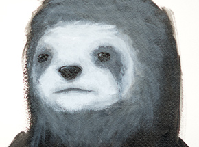 Original Art by Luke Chueh - Sloth - Character Study