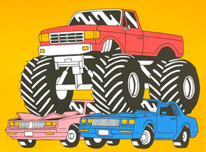 Art Print by Luke Pelletier - Monster Truck
