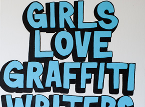 Original Art by Lush - Girls Love Graffiti Writers - Original Painting