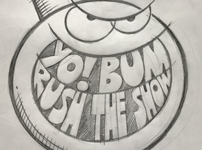 Original Art by Kevin Lyons - Yo! Bum Rush The Show - Record Store Day