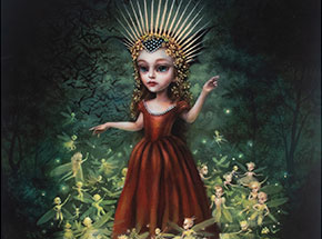 Art Print by Mab Graves - Queen Mab - Hand-Painted Prints