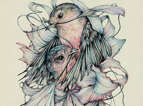 Original Art by Marco Mazzoni - A Son