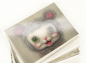 Book by Mark Ryden - Snow Yak Microportfolio Postcard Set